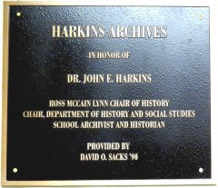 plaque harkins