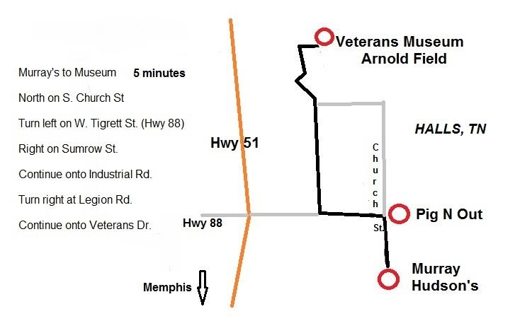 map of halls