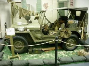 Veterans Museum display
